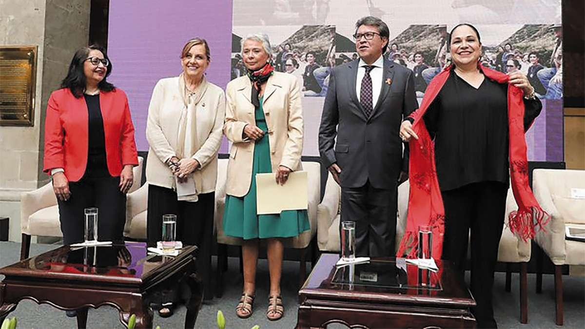 NUEVO ENFOQUE. Sánchez Cordero adelantó que habrá marcaje personal y se pondrá lupa a los jueces y fiscales que llevan casos de feminicidio. Foto: Especial