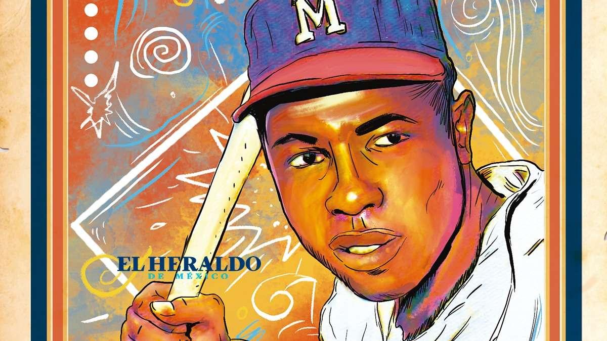 HANK AARON. Elegido al Salón de la Fama del Beisbol en Cooperstown, NY, 1 de agosto de 1982. Ilustración: Arturo Ramírez