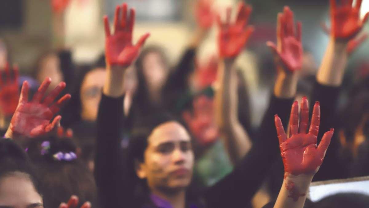 PROTESTAS. Las mujeres han demostrado su repudio a la inseguridad. Foto: Enfoque