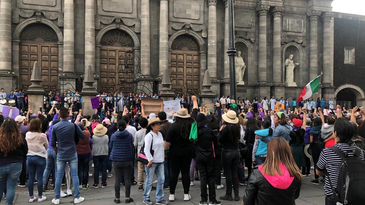 Marcha 8M en Toluca