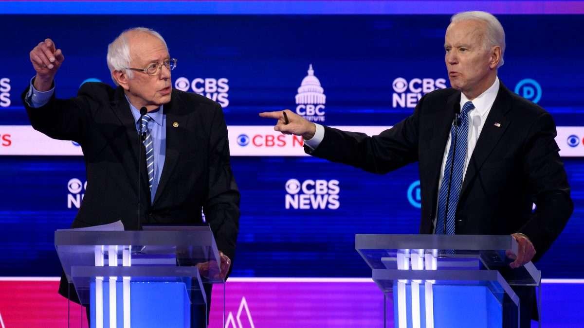 RIVALES. Bernie Sander y Joe Biden se encuentran en franca lucha por la candidatura presidencial demócrata. Foto: AFP