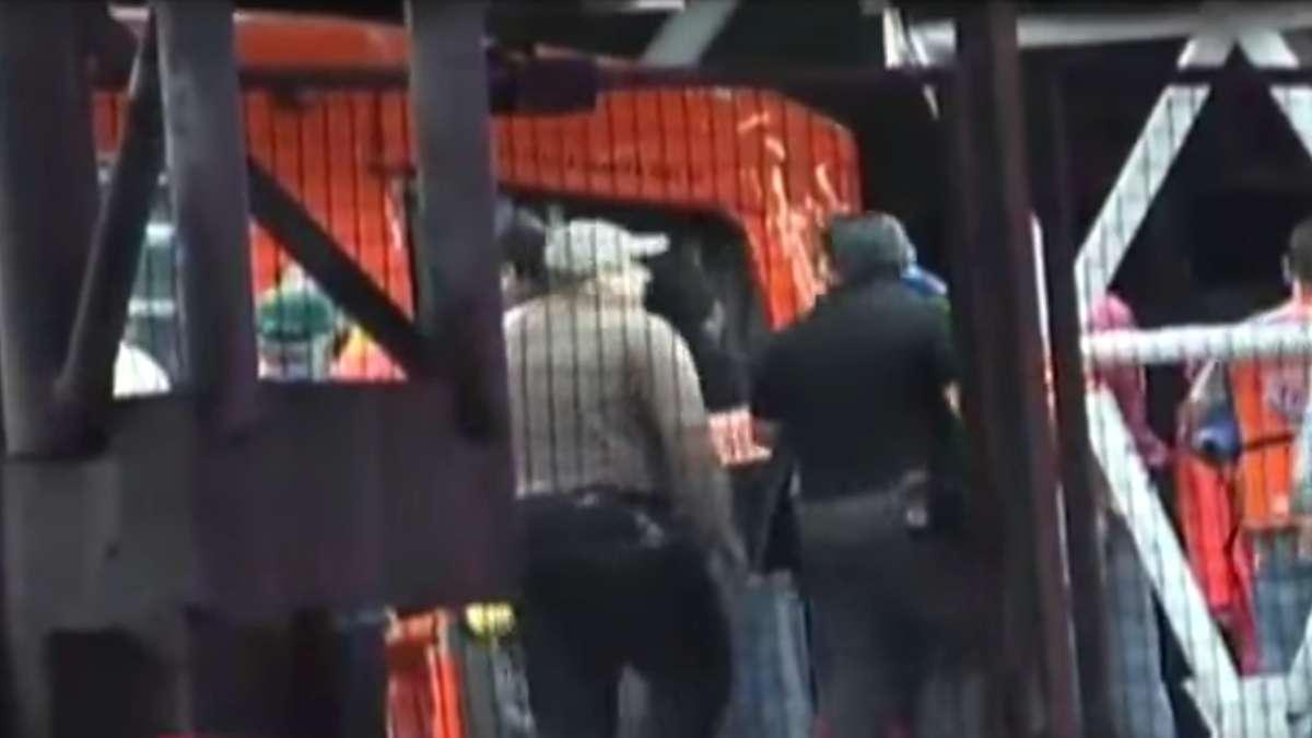 Asi se vivio el choque de trenes en Metro Oceania en 2015 VIDEO