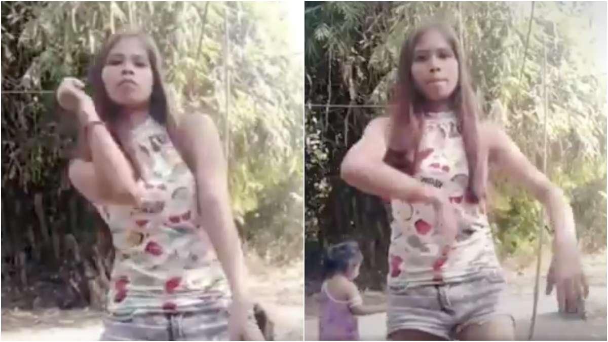 tiktok-video-viral-niña-ataque-gallo-baile-shakira-challenge