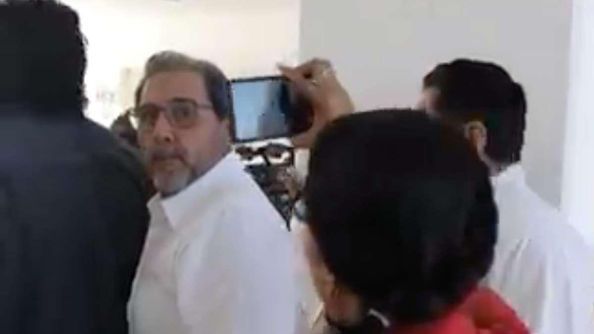 funcionario campeche periodista pelea