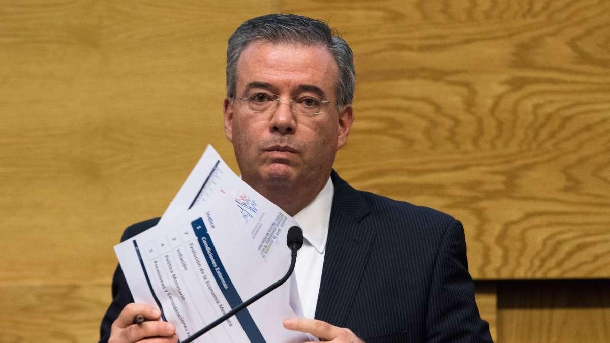 Nuestro objetivo es mantener inflacion baja ante crisis por coronavirus Alejandro Diaz de Leon