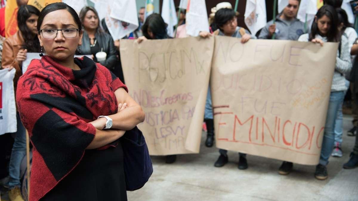 Vital aplicar protocolos de investigacion por feminicidios Sayuri Herrera