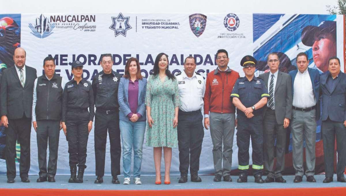 FORTALEZA. La alcaldesa Patricia Durán indicó que dos mil 500 policías se van a ver beneficiados. Foto: Especial