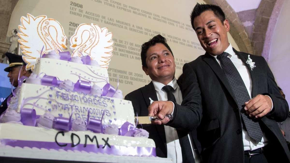 bodas matrimonio ogualitario LGBTTTI cdmx