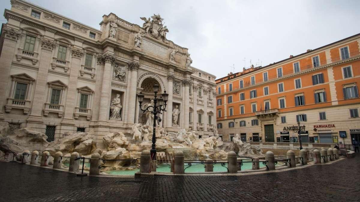 calles del centro de Roma
