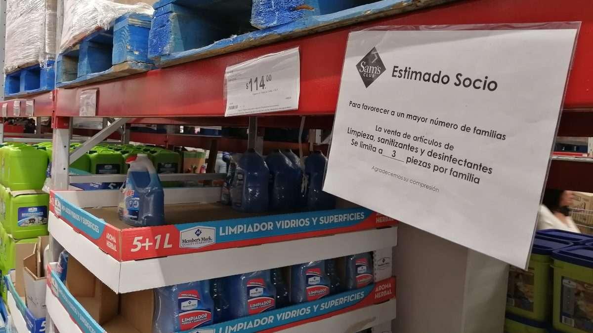 ESCASEA MERCANCÍA. Empresas tienen 300% de alza en demanda de gel antibacterial. Foto: ENFOQIUE
