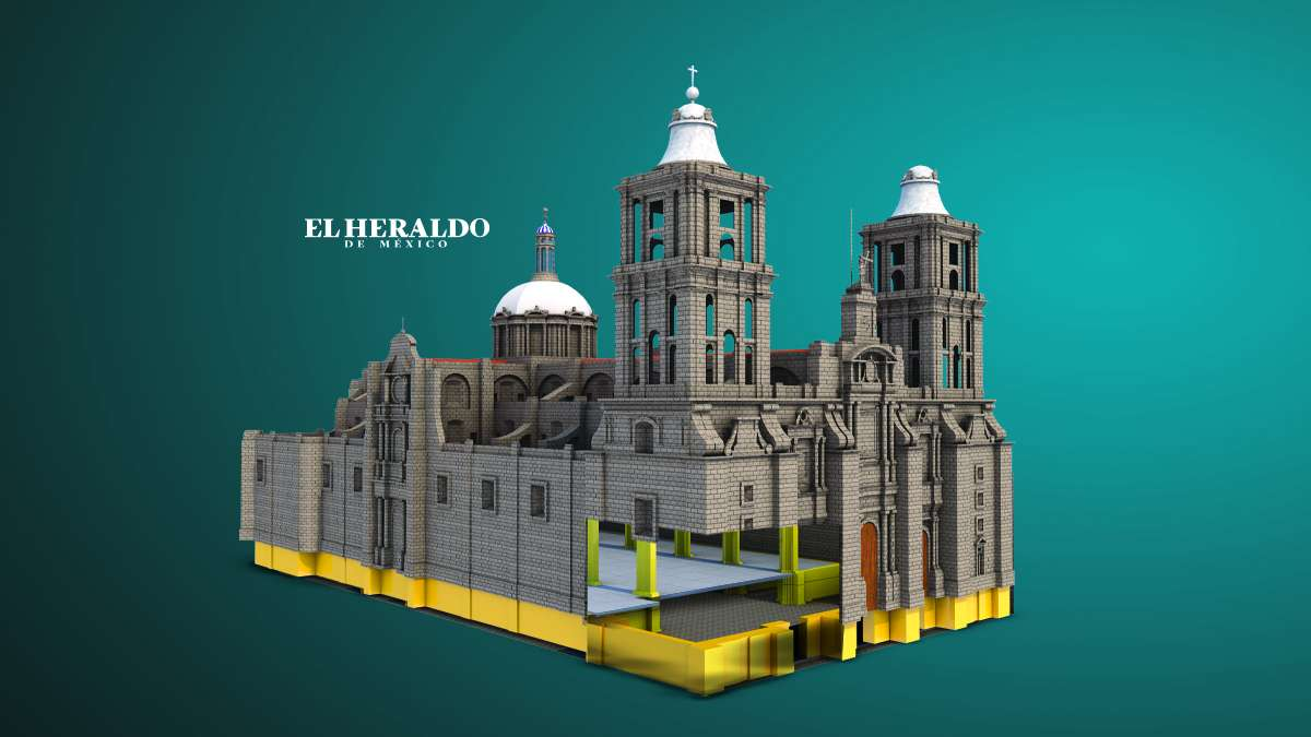 Catedral MetropoIitana. ILUSTRADOR: ARTURO RAMÍREZ