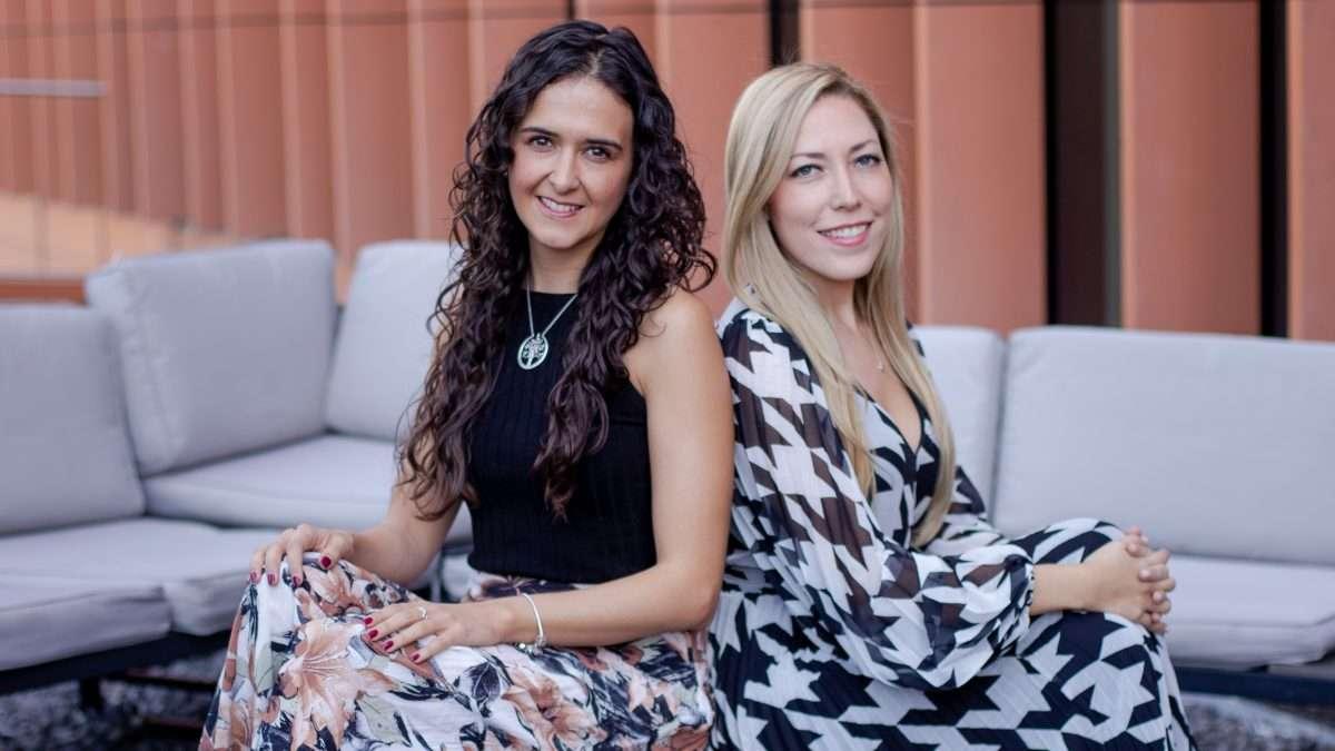 EMPRENDIMIENTO. Daniela y Sol crearon Todo Vien con el objetivo de impulsar el bienestar social. Foto: Yaz Rivera