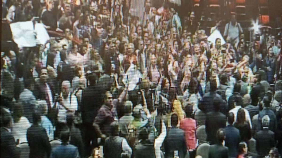 camara-diputados-trabajadores-protesta-sindicato-iniciativa