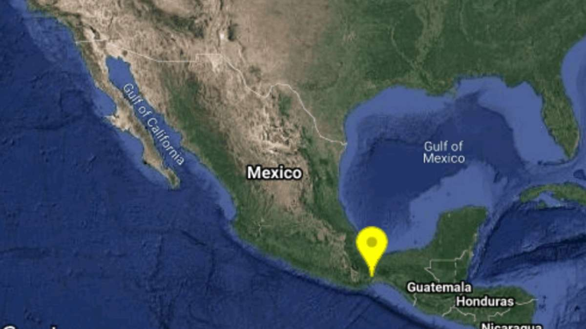 Tuvo un preliminar de magnitud 5 con 6 FOTO: SISMOLOGICO NACIONAL
