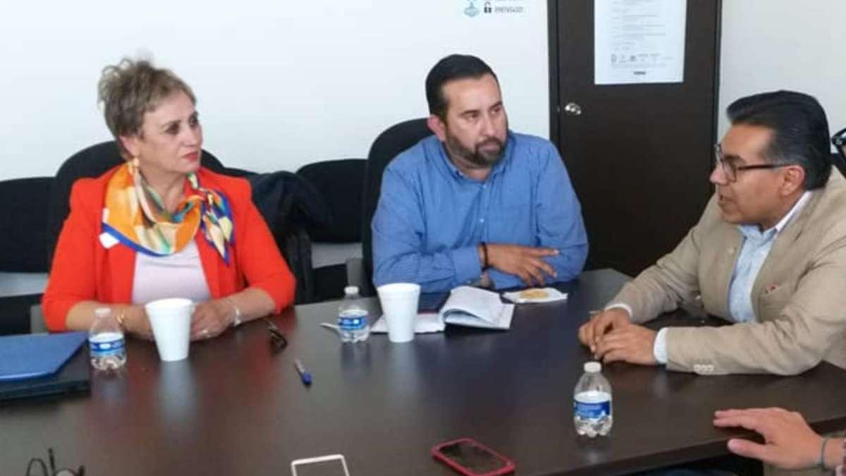 María Juana Romero, alcaldesa de Nacozari de García, Sonora, en reunión con el Consejo Directivo de la Red Sonorense de Municipios de la Salud (RSMS)