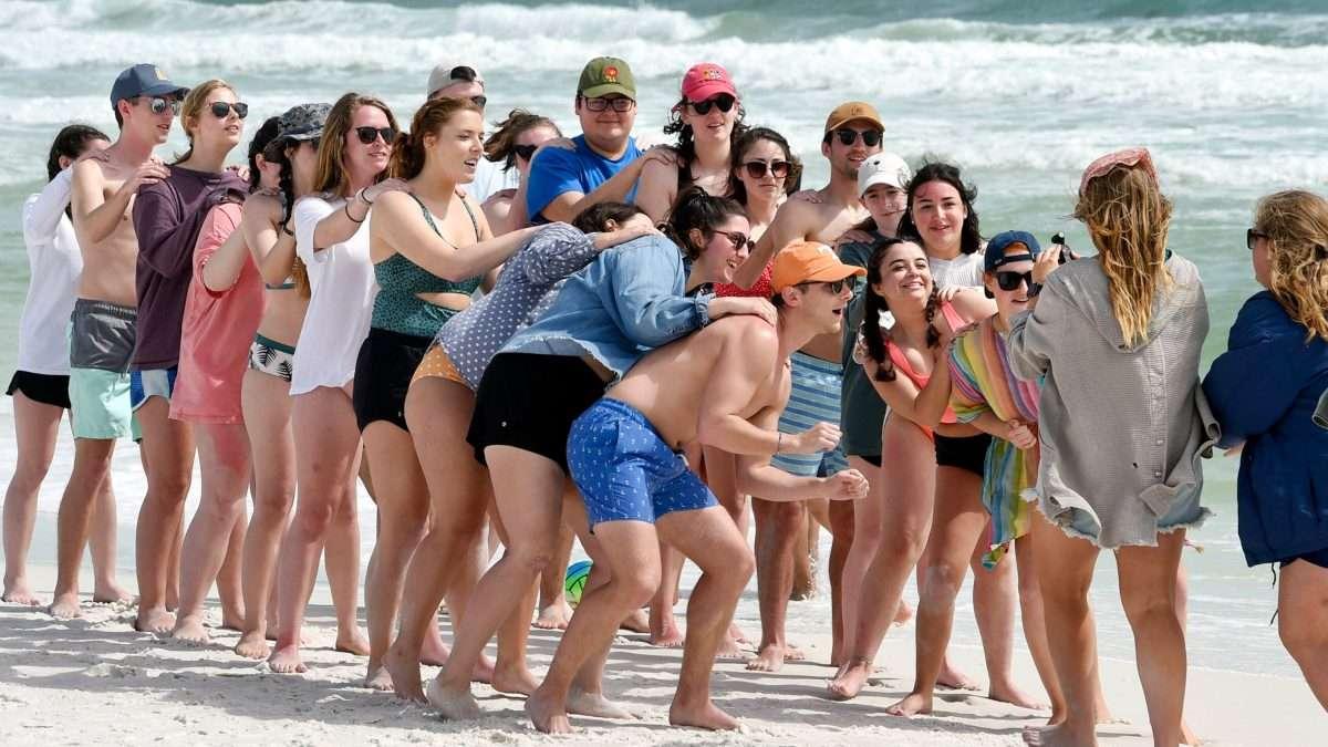TURISMO. Las playas mexicanas son de las preferidas de los estudiantes en vacaciones. Foto: AP