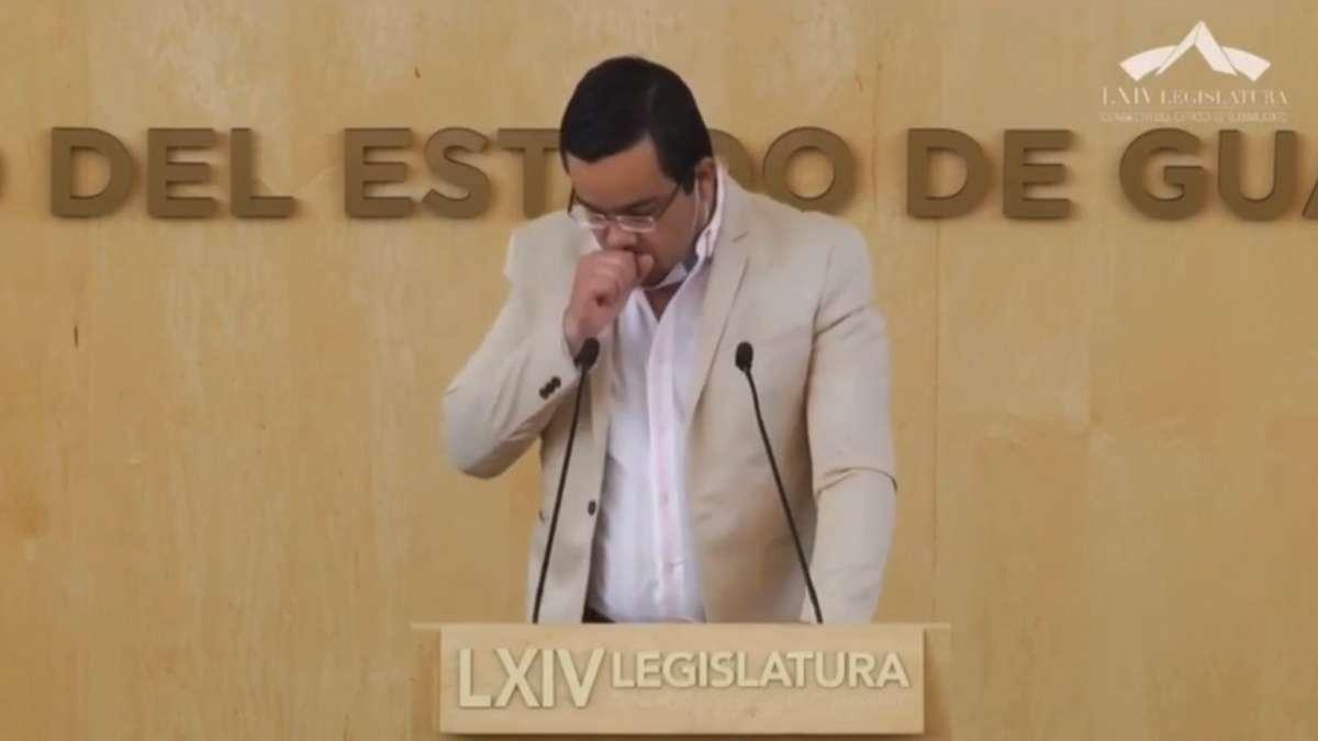 diputado congreso guanajuato coronavirus casos sospechoso