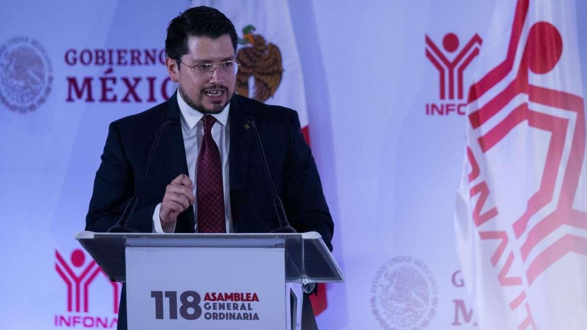 Carlos Martinez, director del general del Infonavir FOTO: CUARTOSCURO