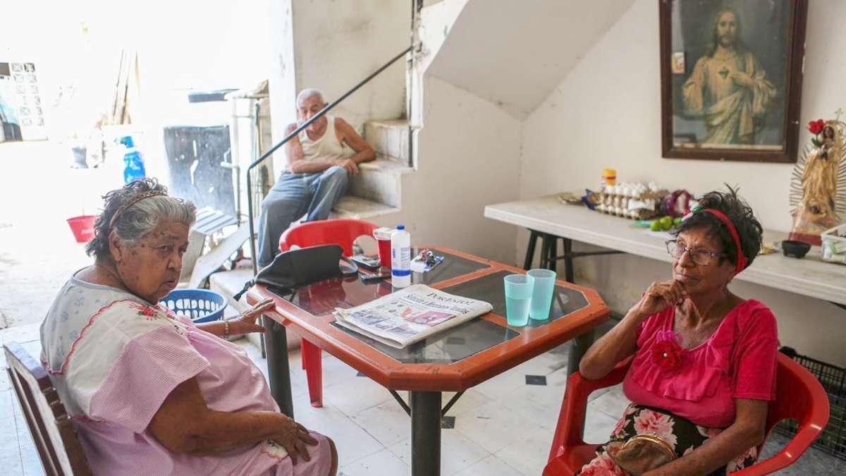 LOS DEJAN SOLOS. En el interior de las estancias, varias actividades han sido suspendidas para evitar posibles contagios. FOTO: Cortesía LORENZO HERNÁNDEZ