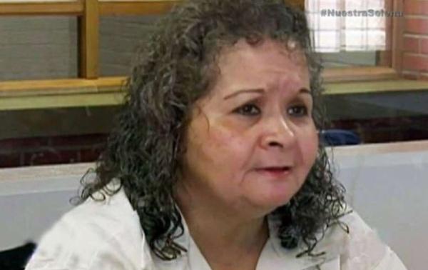 Yolanda Saldívar durante una entrevista en 2017. FOTO: Univisión