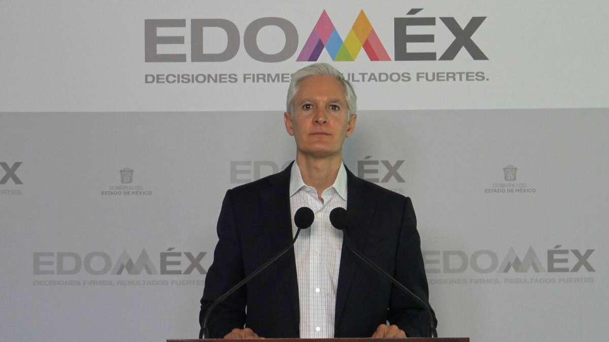 Edomex seguridad Alfredo del Mazo COVID-19 hospitales