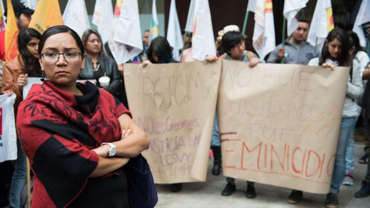 fiscal CDMX Sayuri Herrera justicia femincidios