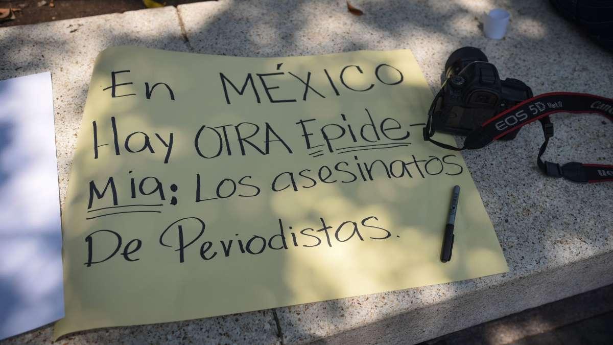 Veracruz periodistas Maria Elena Ferral