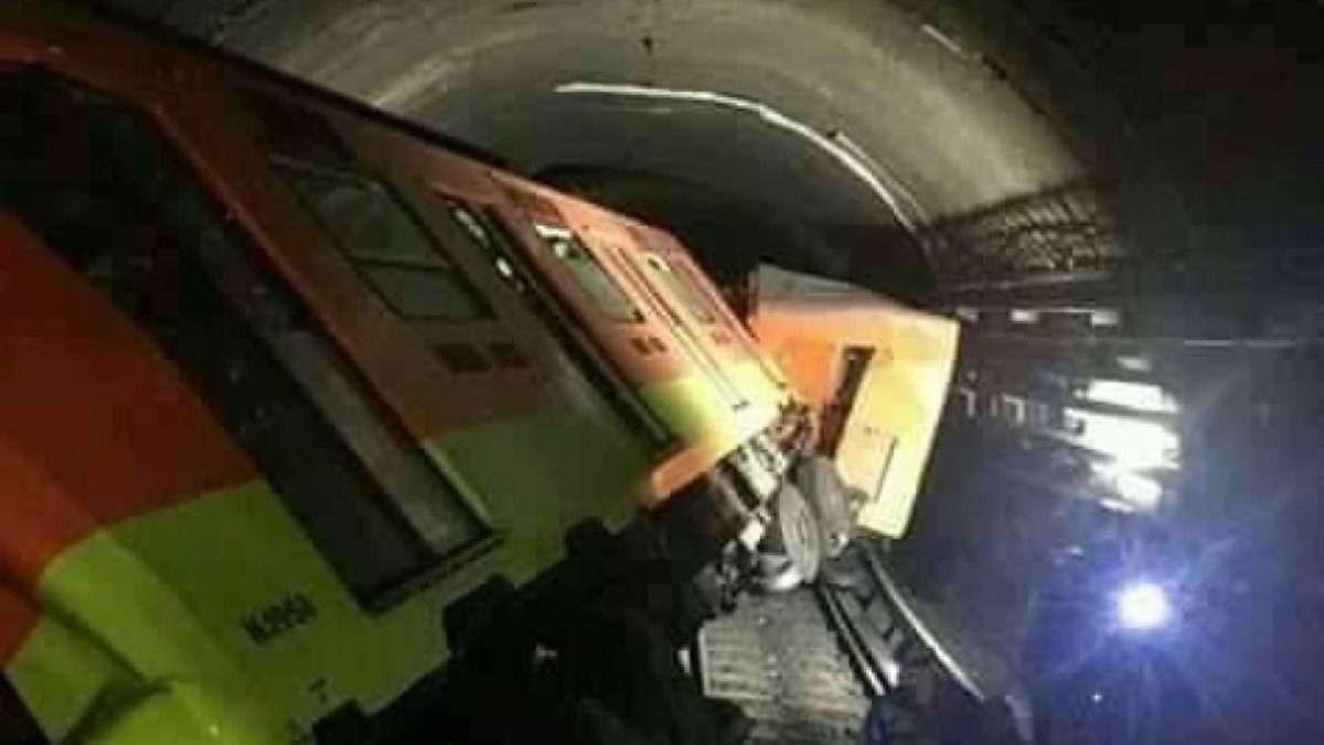 43 heridos y un muerto dejó la colisión de trenes. Foto: Cuartoscuro