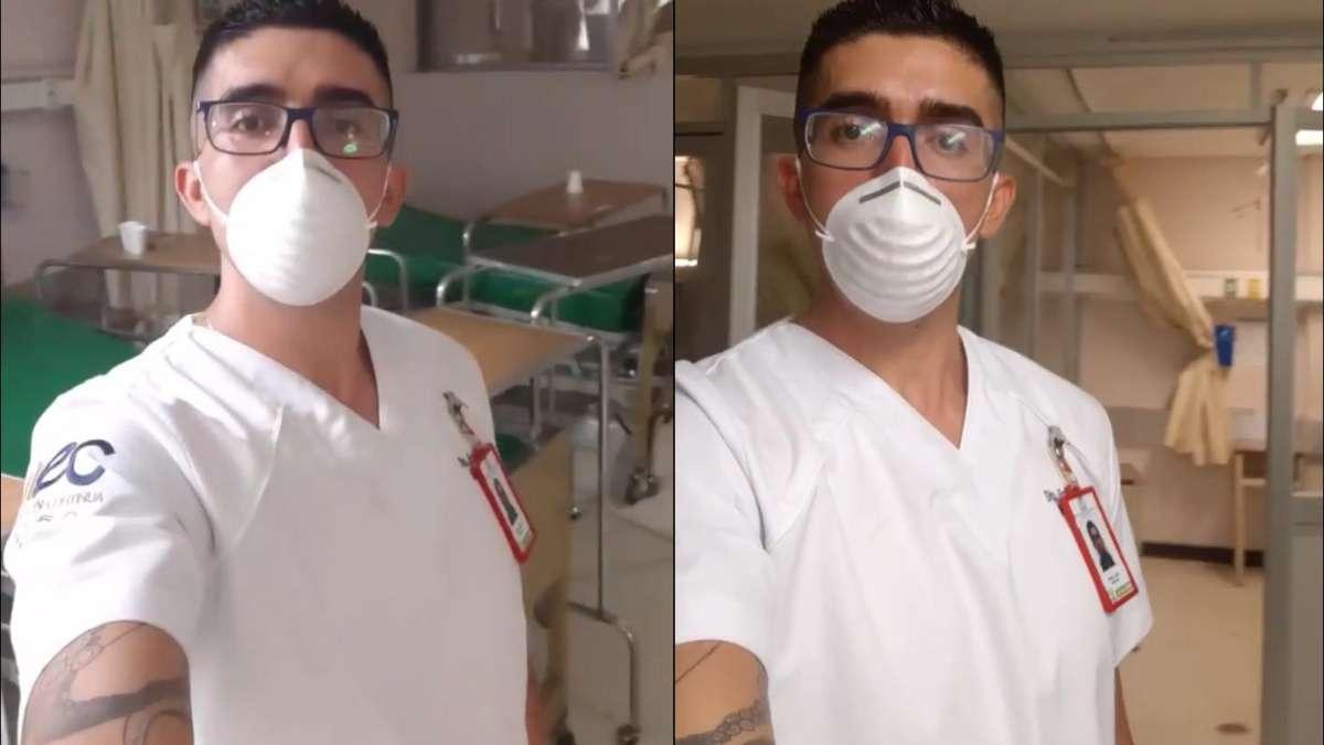 coronavirus-enfermero-imss-advierte-personas-covid19-es-real-efectos-miedo-video