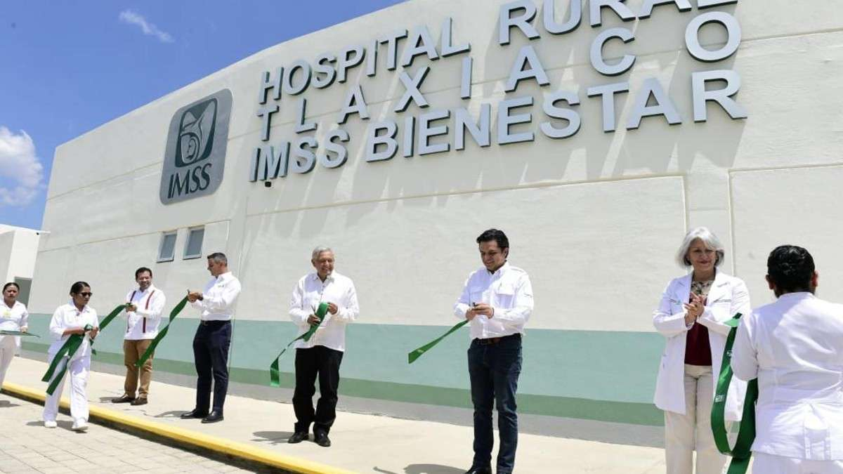 imss inauguracion hospital Tlaxiaco oaxaca