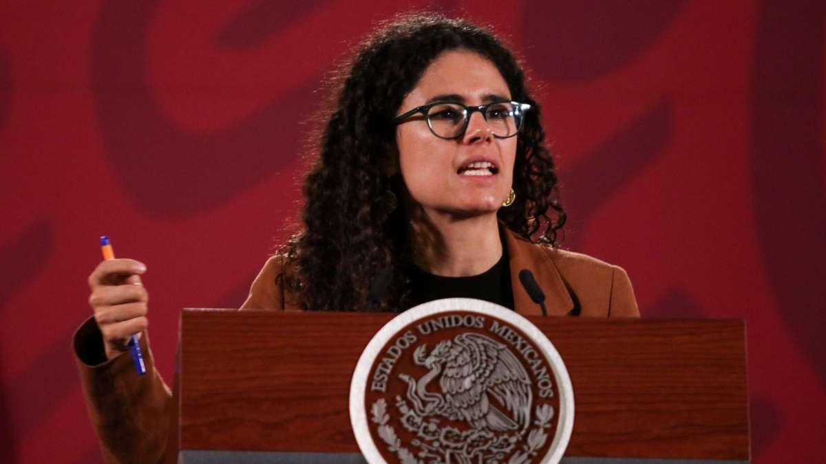 Luisa María Alcalde propuso a empresas llegar a acuerdos con trabaja- dores. FOTO: CUARTOSCURO