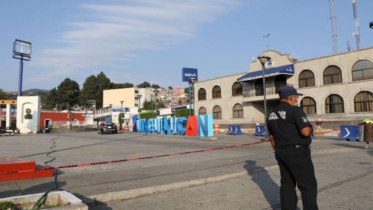 Huixquilucan cierre plaza municpal contingencia covid19