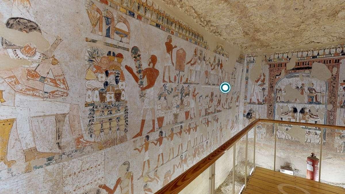 Egipto ofrece recorridos por una tumba tebana. Foto: Especial