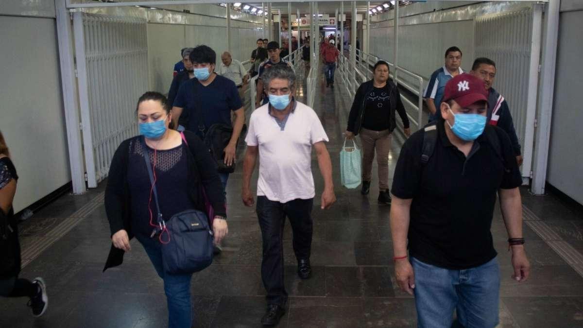 COVID-19 muertes confirmados 5 abril Mexico