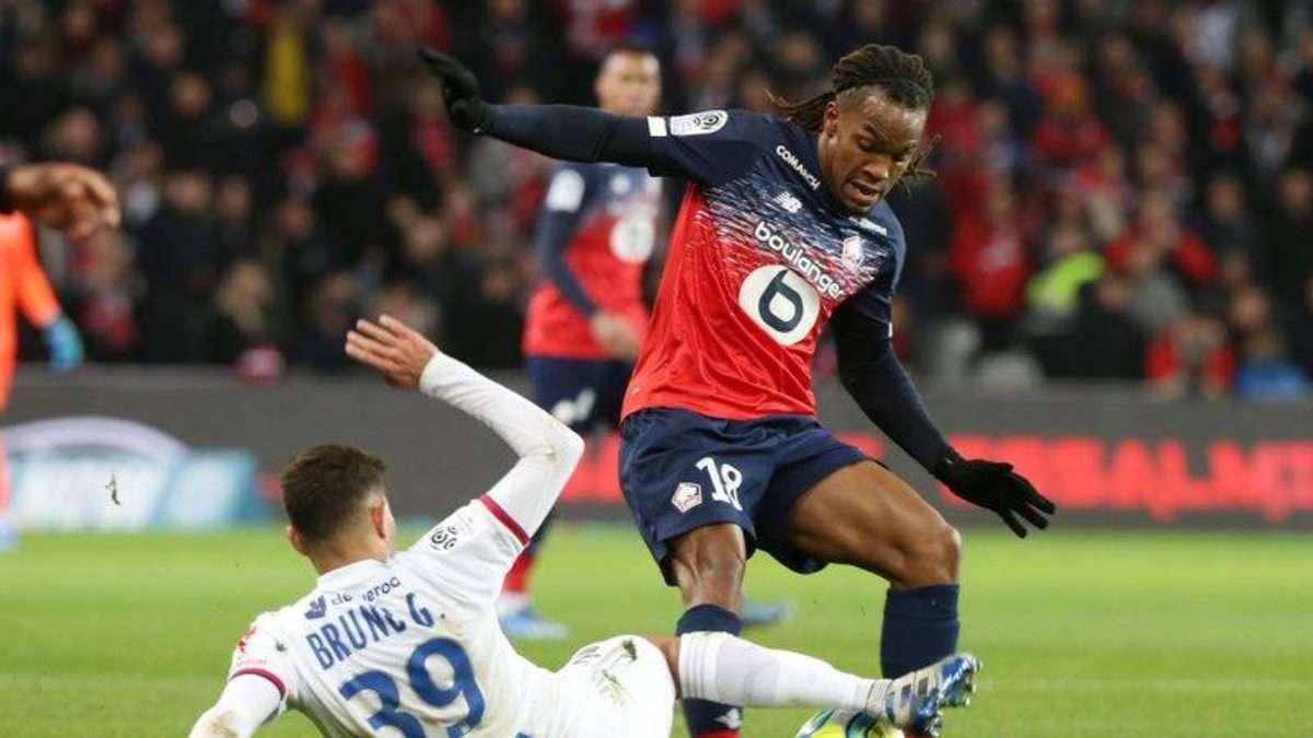 INCÓGINTA. El partido Lille-Lyonnais fue el último que se disputó en la Ligue 1. Foto: REUTERS
