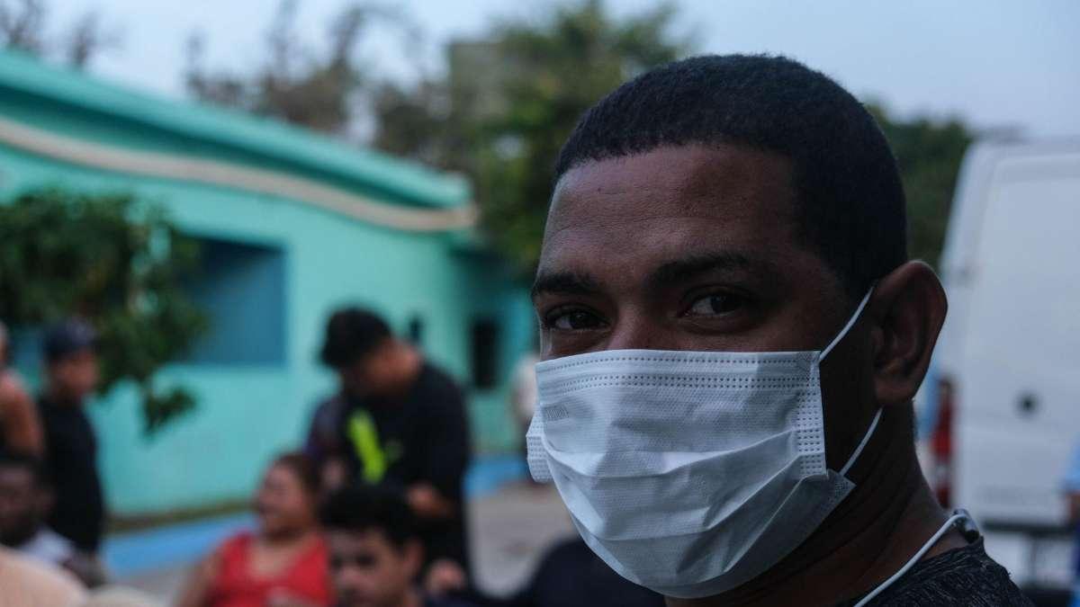 A SU SUERTE. Al menos 500 migrantes fueron dejados abandonados. Foto: Cuartoscuro