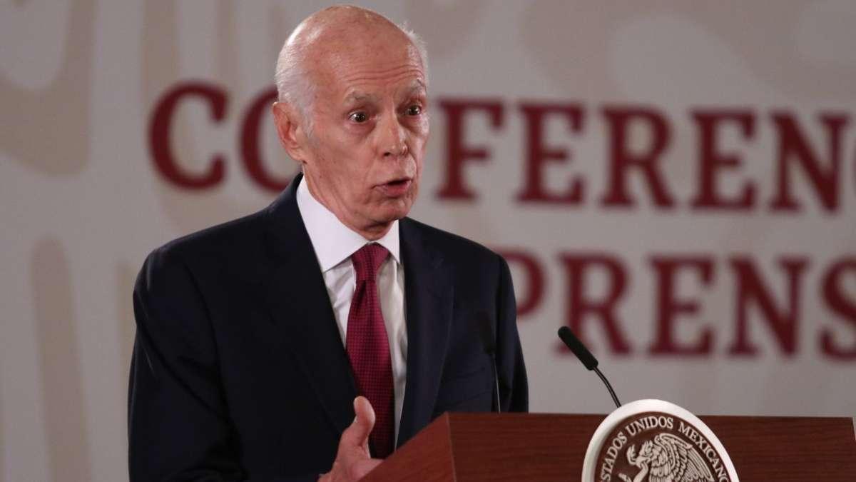 Luis Niño de Rivera asegura que México cuenta con una línea de crédito del FMI. FOTO: CUARTOSCURO
