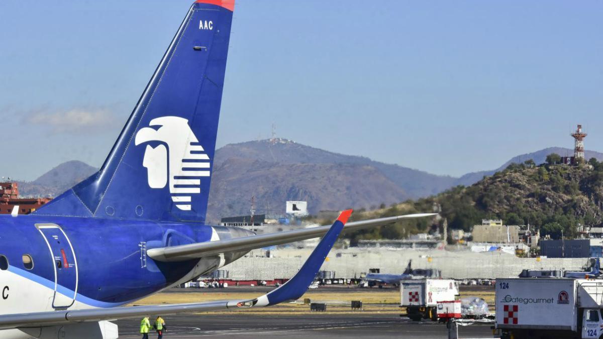 Sector aereo estima perdidas millonarias para aerolineas en Mexico por coronavirus