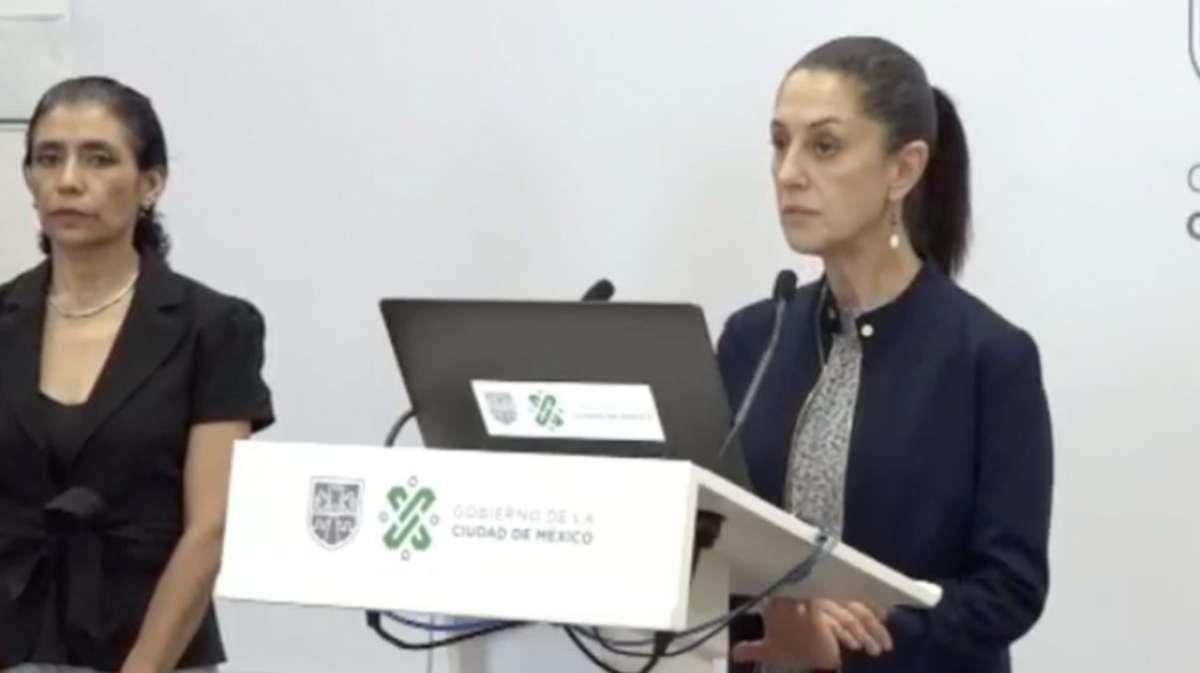 PROYECCIONES. Sheinbaum y López, en videoconferencia. Foto: Cuartoscuro