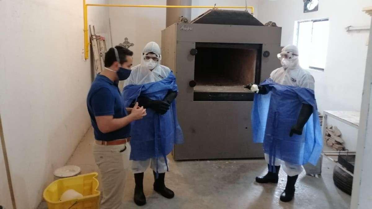 Aumentan 500% cremaciones en CDMX por el aumento del COVID-19