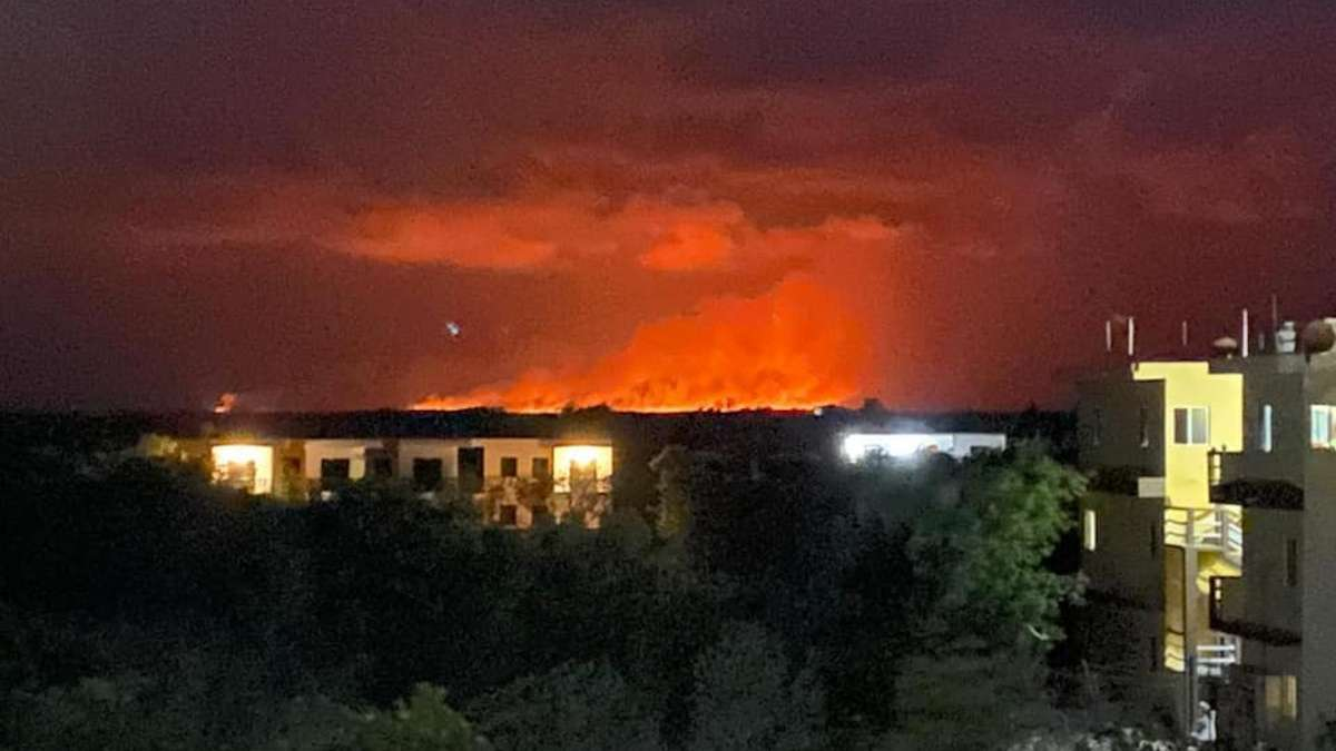 incendio forestal Quintana Roo Chiquila