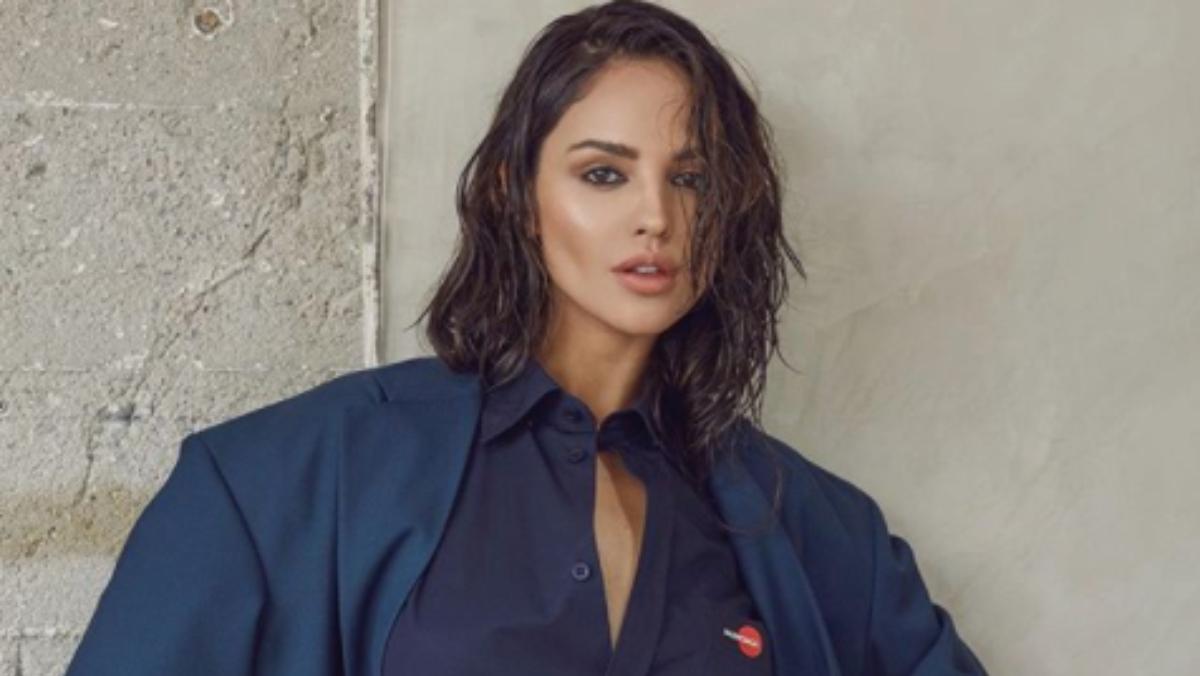 Eiza González se quitó la ropa y causó polémica en redes