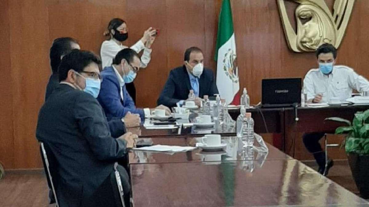 gobierno morelos imss coordinan acciones covid Cuauhtemoc Blanco Zoe Robledo
