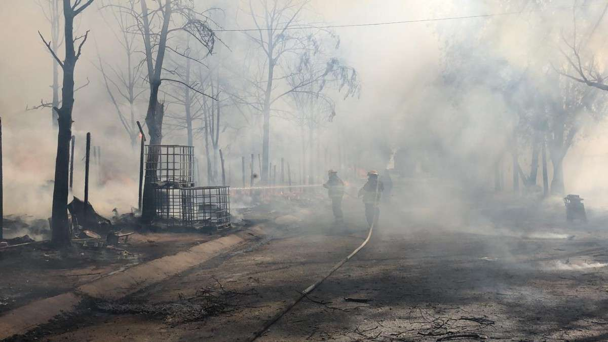 incendio comercios perdidas tlaquepaque jalisco bomberos inmuebles