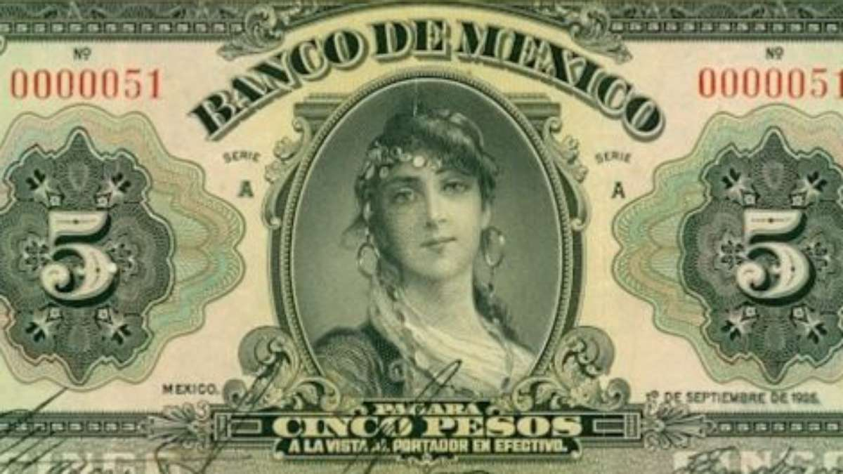 El billete se lanzo en 1925 FOTO: BANXICO