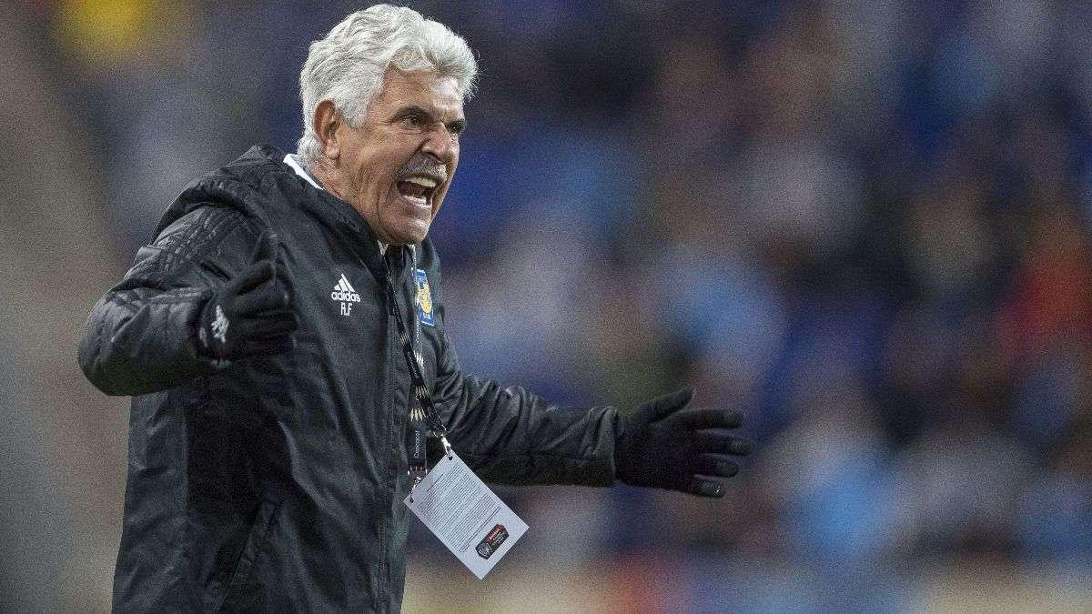 Ricardo Ferretti, técnico de los Tigres. Foto: Mexsport