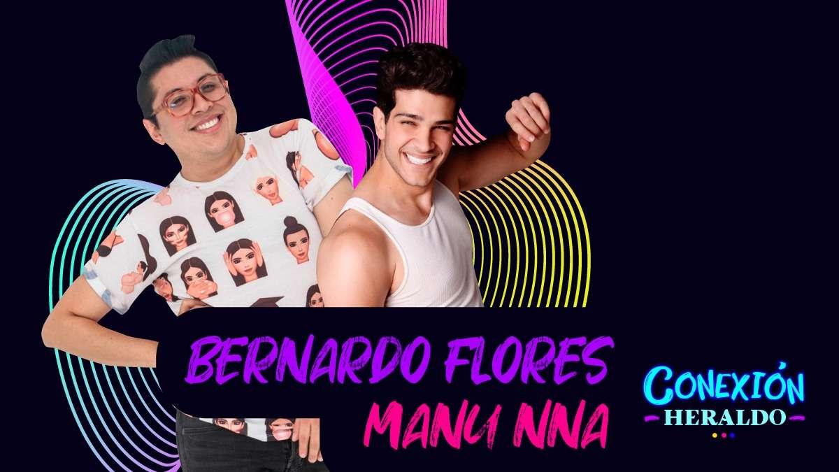 Bernardo Flores y Manu Nna confesaron quién llora más en las películas.