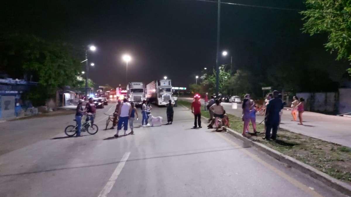 tampico tamaulipas bloqueos energia electrica habitantes carreteras