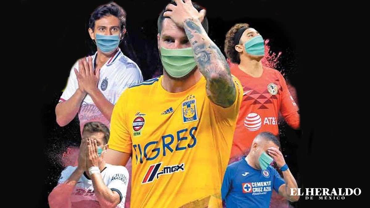 La Liga MX Femenil también tuvo que ser concluida anticipadamente, debido a la pandemia por el COVID-19. Fotoarte: Marco Fragoso