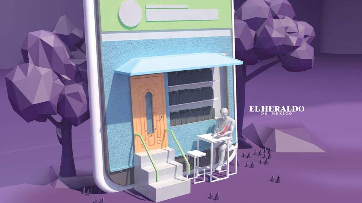 """""""Los lectores digitales son críticos y cada vez más selectivos con los contenidos"""". Elena Bazán, Gestora de cuentas de Bookwire México. Fotoarte: Arturo Ramírez"""